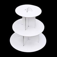 Wedding Cake Stands & Plates for sale 3 Tier Cupcake Stand, Cupcake Tray, Paper Cupcake, Cardboard Cake Stand, Paper Stand, White Cupcakes, Mini Cupcakes, Chandelier Cake Stand, Acrylic Cake Stands