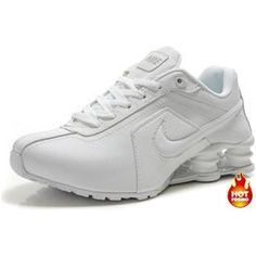 release date: 9348a d77fc Womens Nike Shox R4 Full White Running Shoes Nike, Nike Free Shoes, Style  Fashion