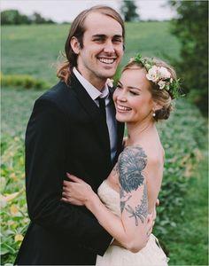 Trending - Our 10 Favorite Tattooed Brides