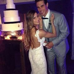 Brady Quinn And Alicia Sacramone