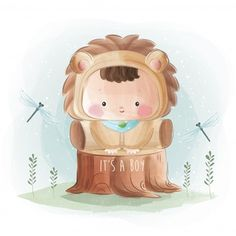New born baby boy in lion costume Cute Baby Bunnies, Cute Baby Boy, Cute Babies, Cute Bunny Cartoon, Baby Cartoon, Cute Little Boys, Little Boy And Girl, Buffalo Painting, Elephant Background