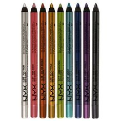 Best waterproof eyeliner. Nyx is just as good as the Urban Decay and almost half the price!