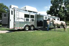 Photo courtesy of Gulf Coast 4-Star Trailer Sales in Willis, TX.  This is Erin Knox with her new 4-Star trailer.  For more information:  (877) 543-0733 or visit their website at www.gc4star.com