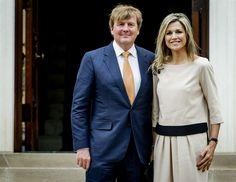 Koningspaar dankt VS voor rol bij bevrijding - Vorsten