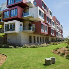 Drivable Grass with seed infill was installed for the fire lane at the Sanford Consortium at USCD in La Jolla, CA