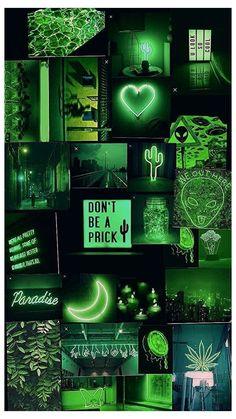 Iphone Wallpaper Green, Bad Girl Wallpaper, Iphone Wallpaper Images, Iphone Wallpaper Tumblr Aesthetic, Neon Wallpaper, Aesthetic Pastel Wallpaper, Cute Wallpapers, Aesthetic Wallpapers, Aesthetic Backgrounds