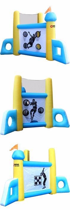 Inflatable Bouncers 145979: Commercial Grade Bounce House 100% Pvc Inflatable Sports Jumper With Blower -> BUY IT NOW ONLY: $350 on eBay!