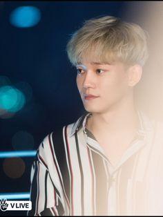 Jongdae ❤ Accept it, Jongdae with Blonde hair killed us. Exo Chen, Suho, Celebrity Magazines, Exo Luxion, Kim Minseok, Kim Junmyeon, Wattpad, Exo Members, Chinese Boy