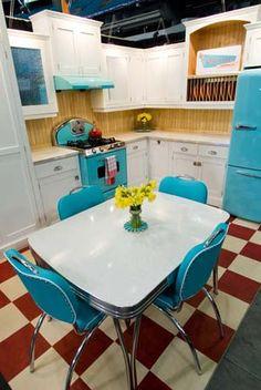 Retro North Star refrigerators and ranges available through Wesley Ellen Design & Millwork.  www.wesleyellen.ca