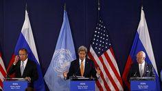 Lavrov y Kerry anuncian los puntos clave de los acuerdos sobre Siria
