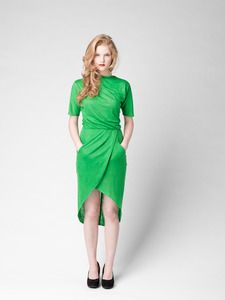 i can't afford you, but i want you, pretty grass green dress