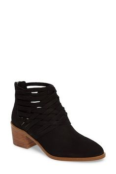 Iliza Bootie Leather Booties, Nordstrom Rack, Block Heels, Wedges, Booty, Chic, Products, Fashion, Leather Boots