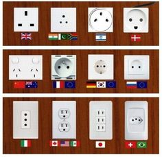 These photos of outlets from around the world are like the tech equivalent of Rorschach tests, with a dash of geography and world flag lessons to boot
