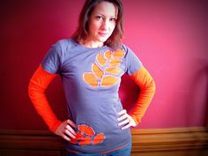 Use up two of your old t-shirts in this combo repurpose deal- SWEET!  t shirt rehab by hopestudios1, via Flickr