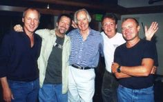Mark Knopfler, Eric Clapton, George Martin, Paul McCartney, Phil Collins