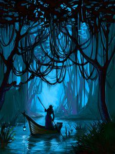 jungle river by Ardariel.deviantart.com on @deviantART