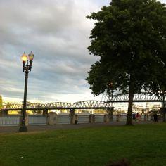 Portland waterfront. So many wonderful memories