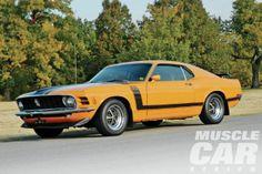 1970 Ford Mustang Boss 302 - Tornado Boss