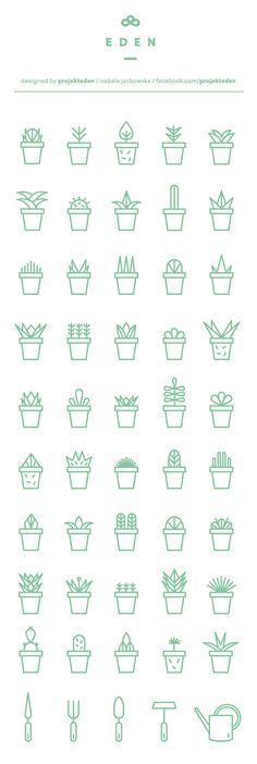 How to draw and doodle succulents for your bullet journal, planner or sketchbook. - Bullet journal İdeas in 2019 Icon Design, Web Design, Logo Design, Resume Design, Design Ideas, Flat Design, Design Layouts, Icon Set, Grafik Design