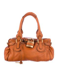 Yup. Another Chloé Paddington Bag. At least I know what I like... Plus, I've been really REALLY into shades of orange lately, from pale citrus to a burnt sienna...