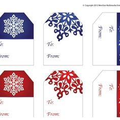 DIY: Print these Holiday Gift Tags and Save Money at the Store!