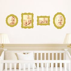 Antique Photo Frame Wall Decals by Paper Culture
