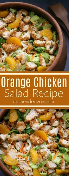 Delicious Orange Chicken Salad Recipe - easy recipe, under 30 minute meal! #FFRuleYourRoost AD