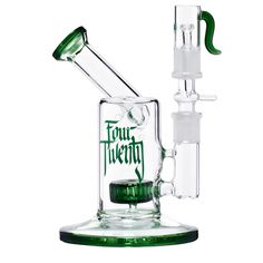 Four Twenty - Vapor Bubbler with Slitted Drum Perc - Green