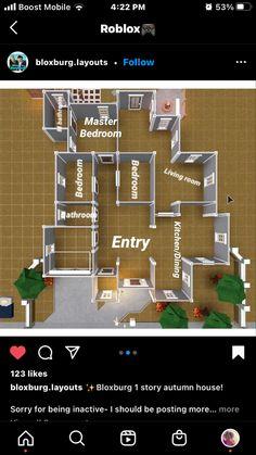 Sims 4 House Plans, Sims 4 House Building, House Plans Mansion, Home Building Design, Tiny House Layout, House Layout Plans, House Layouts, Sims 4 House Design, Unique House Design