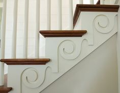 cute detailing on stairs