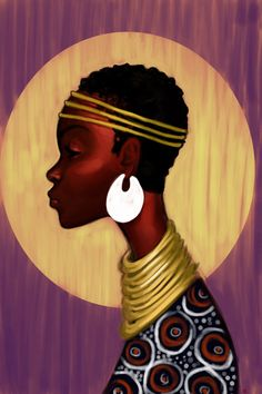 Tribute to the beauty of the african woman
