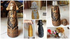 How to make tribal people from bottle