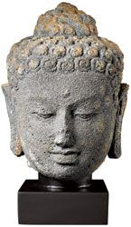The Met Store - Unknown Artist: Head of an Indonesian Buddha