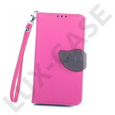 Theorin Nokia Lumia 630 Lær Flipp Etui - Varm Rosa