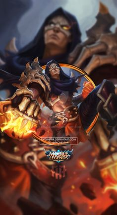 Wallpaper Phone Aldous Death by FachriFHR on DeviantArt Phone Wallpaper For Men, Wallpaper Hp, Mobile Legend Wallpaper, Disney Wallpaper, Wallpaper Quotes, Wallpaper Backgrounds, Hero Fighter, Miya Mobile Legends, Alucard Mobile Legends