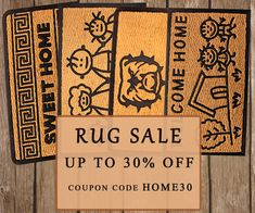 Shop on wide range collection of Floor mats or entrance rugs from our store Amberhomegoods. We have all bio-degradable entryway rugs at affordable price. Entrance Mats, Door Rugs, Entryway Rug, Rug Sale, Natural Rug, Floor Mats, Floors, Stylish, Shop