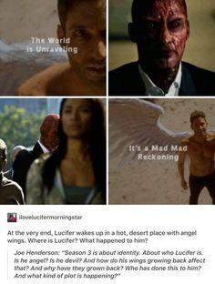 Lucifer. Love the third season so much *-*