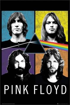 Centred with the iconic prism featured on the legendary album 'The Dark Side Of The Moon', this awesome pop art style poster features the four members of Pink Floyd, Roger Waters, David Gilmour, Syd Barrett and Richard Wright. If you are a huge rock fan then hang this poster on your wall and rock out to some seriously good Prog rock. Official merch. Free UK Delivery on orders over £35