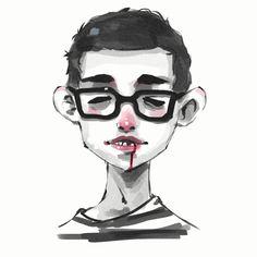 Self Portrait by vinciruz on DeviantArt
