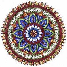 Abundance in Wintertime Mandala