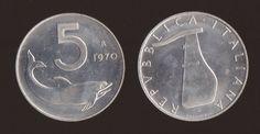 Valore Moneta 5 Lire Delfino