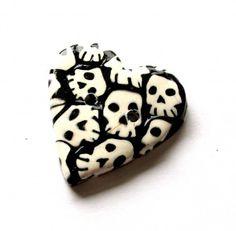 Polymer Clay Skull Cane Tutorial