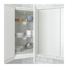 UTRUSTA Wall corner cabinet carousel - IKEA
