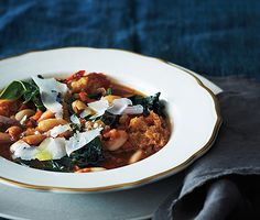 Mmm! Sounds like the perfect lunch recipe for a chilly spring day! // Italian Vegetable Stew @epicurious #winter #soup