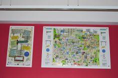 Perspex map pieces, The Dickinson Centre, Park Community School PO9 4BU
