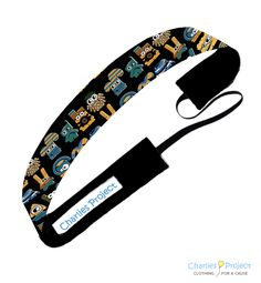 Minions - 1 inch Non-Slip Headband - Charlies Project Headbands for a Cause