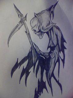 Grim reaper tattoo by deathlouis on DeviantArt
