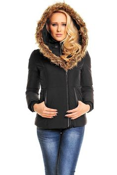 Dámská zimní bunda Winter Jackets, Zip, Hoodies, Elegant, Sweaters, Clothes, Style, Fashion, Winter Coats