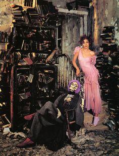 Nadja Auermann, Richard Avedon's Fantastic Fable (24 photos) - My Modern Metropolis