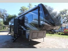 Keystone Raptor toy hauler 423 highlights: Outdoor Kitchen Separate Garage Loft Exterior TV Master Suite With this Raptor toy hauler, you will have everything you need for all of those nature. Fifth Wheel Toy Haulers, Fifth Wheel Campers, Raptor Toys, Ocala Florida, Garage Loft, Madeira Beach, Electric Awning, Keystone Rv, Open Layout